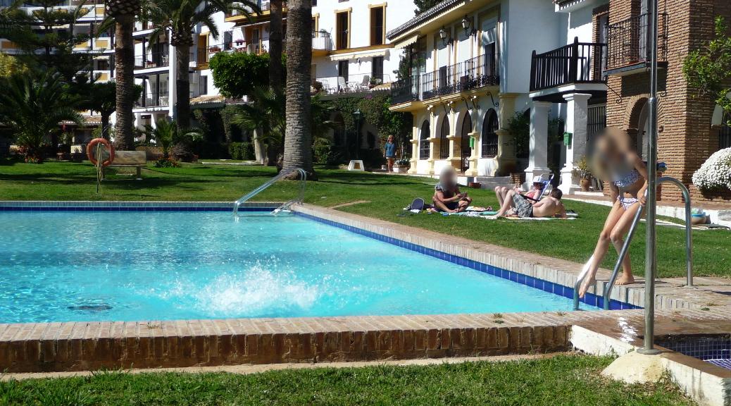 Badsäsongen börjat på Costa del Sol