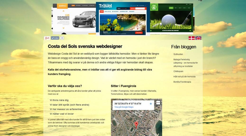 Webdesign Costa del Sol